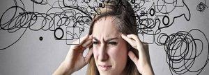 Stress - Frau Chaos im Kopf
