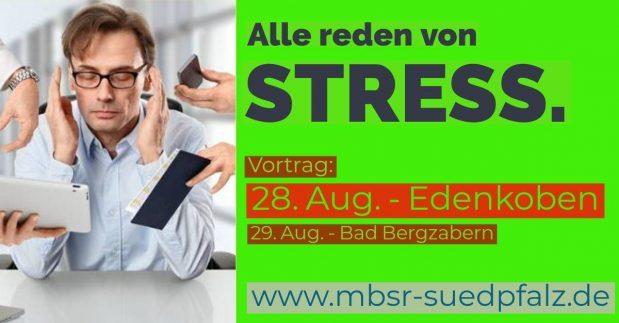 MBSR Kurs Landau - Vortrag Stress Edenkoben