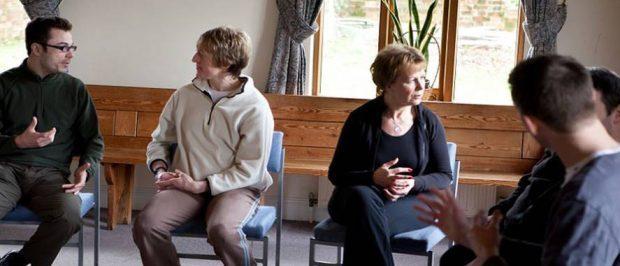 Teilnehmer im MBSR Kurs